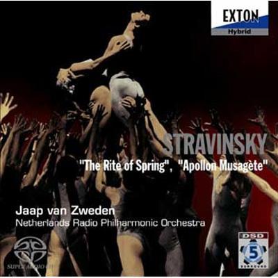 『春の祭典』、『ミューズを司るアポロ』 ズヴェーデン&オランダ放送フィル(シングルレイヤー)