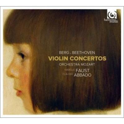 ベートーヴェン:ヴァイオリン協奏曲、ベルク:ヴァイオリン協奏曲 I.ファウスト、アバド&モーツァルト管弦楽団