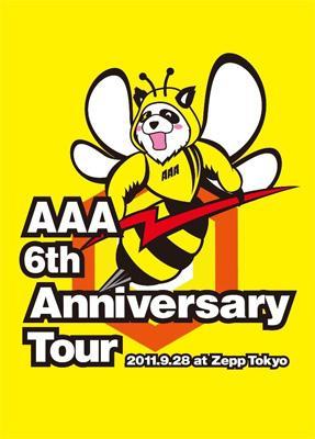 AAA 6th Anniversary Tour 2011.9.28 at Zepp Tokyo