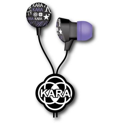 KARA ステレオイヤホン / ブラック