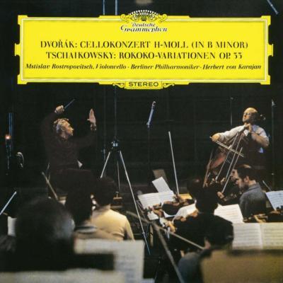 ドヴォルザーク:チェロ協奏曲、チャイコフスキー:ロココ変奏曲 ロストロポーヴィチ、カラヤン&ベルリン・フィル(シングルレイヤー)(限定盤)
