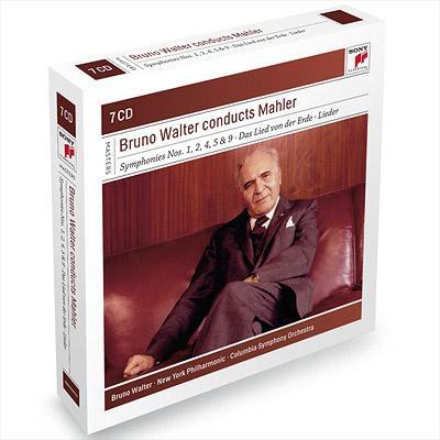 交響曲集 ワルター&コロンビア響、ニューヨーク・フィル(7CD)