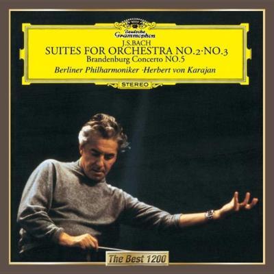 管弦楽組曲第2番、第3番、ブランデンブルク協奏曲第5番(1964) カラヤン&ベルリン・フィル