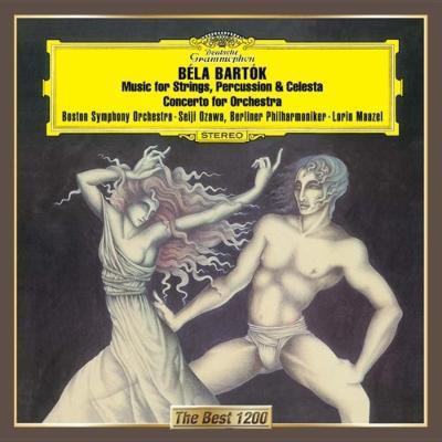 管弦楽のための協奏曲、弦楽器、打楽器とチェレスタのための音楽 マゼール&ベルリン・フィル、小澤征爾&ボストン響