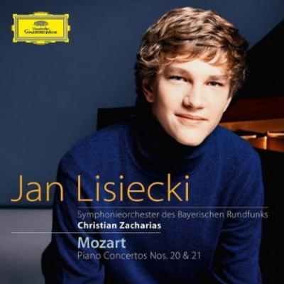 ピアノ協奏曲第20番、第21番 リシエツキ、ツァハリアス&バイエルン放送交響楽団