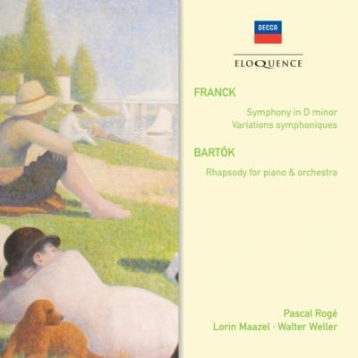 交響曲、交響的変奏曲、他 マゼール&クリーヴランド管弦楽団、ロジェ、他