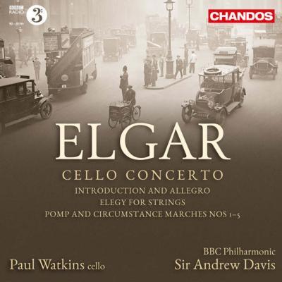 チェロ協奏曲、『威風堂々』全5曲、序奏とアレグロ、エレジー P.ワトキンス、A.デイヴィス&BBCフィル