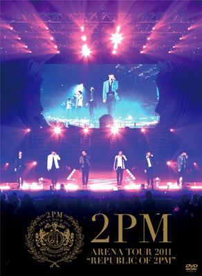 arena tour 2011 republic of 2pm 初回生産限定盤 2pm hmv books