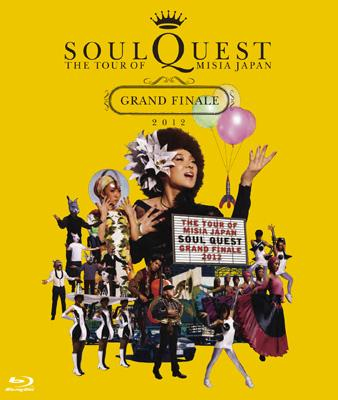 THE TOUR OF MISIA JAPAN SOUL QUEST -GRAND FINALE 2012 IN YOKOHAMA ARENA-(Blu-ray)