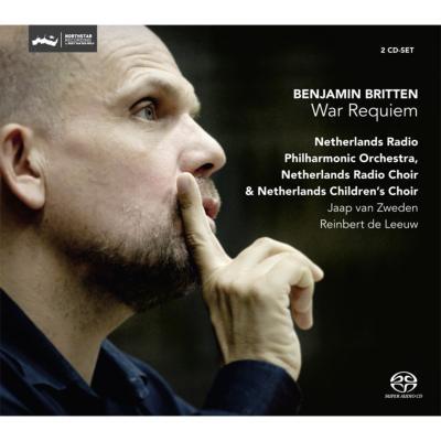 戦争レクィエム ズヴェーデン&オランダ放送フィル、ドブラチェヴァ、グリッフィー、ストーン(2SACD)