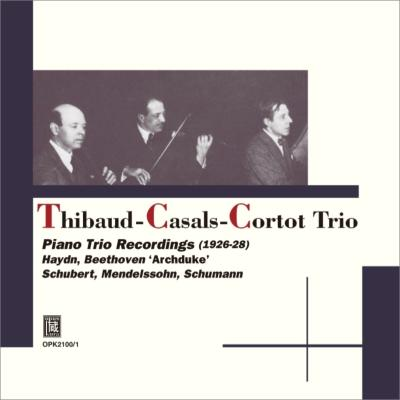 カザルス・トリオ ピアノ三重奏曲録音全集〜ベートーヴェン、シューマン、ハイドン、シューベルト、メンデルスゾーン(2CD)