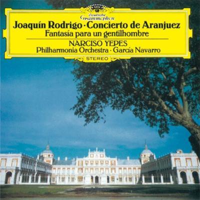 アランフェス協奏曲、ある貴紳のための幻想曲 イエペス、ナヴァッロ&フィルハーモニア管、イギリス室内管(シングルレイヤー)(限定盤)