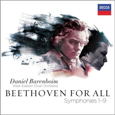 交響曲全集 バレンボイム&ウエスト=イースタン・ディヴァン・オーケストラ(ケルン・ライヴ2011)(5CD)