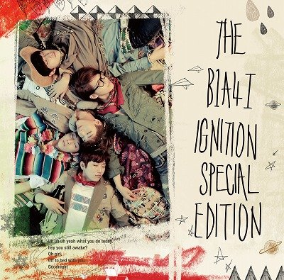THE B1A4 �T IGNITION 【日本仕様盤】(CD+DVD)