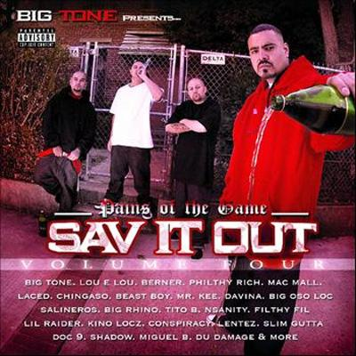 Sav It Out: Vol.4 / Pains Of The Game