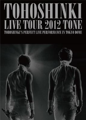 東方神起 LIVE TOUR 2012〜TONE〜【DVD3枚組 初回限定盤】