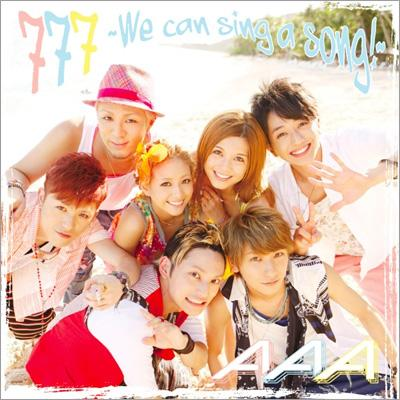 777 〜We can sing a song!〜(+DVD)