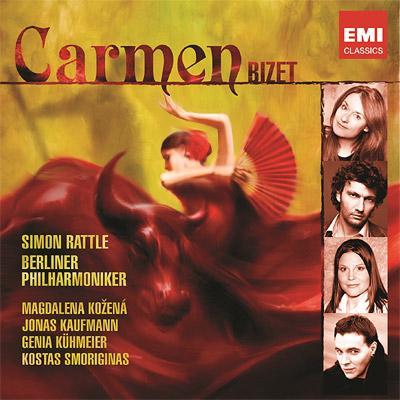 Carmen : Rattle / Berlin Philharmonic, Kozena, J.Kaufmann, Kuhmeier, Smoriginas, etc (2CD)(Deluxe Edition)