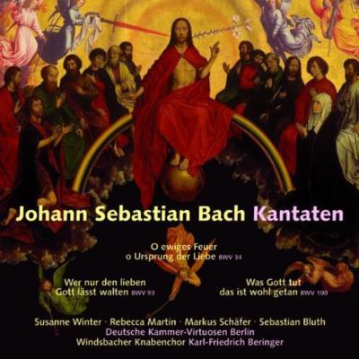 カンタータ第34、93、100番 ベリンガー&ヴィンツバッハ少年合唱団、ドイツ室内ヴィルトゥオーゾ