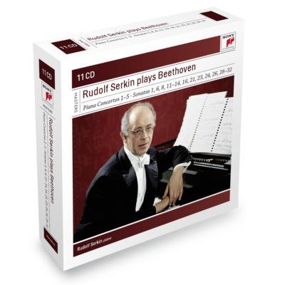 ピアノ協奏曲全集、ソナタ集、ディアベッリ変奏曲、他 ゼルキン、バーンスタイン&ニューヨーク・フィル、他(11CD限定盤)