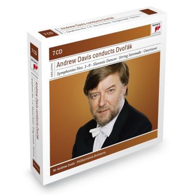 交響曲全集、管弦楽曲集 A.デイヴィス&フィルハーモニア管弦楽団、他(7CD限定盤)