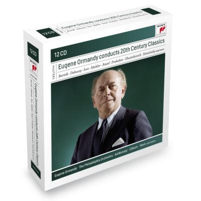 20世紀オーケストラ作品集 オーマンディ&フィラデルフィア管弦楽団(12CD限定盤)