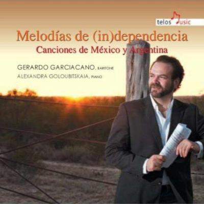 アルゼンチン、メキシコ民謡に基づく歌曲集 ガルシアサーノ、ゴルビツカヤ