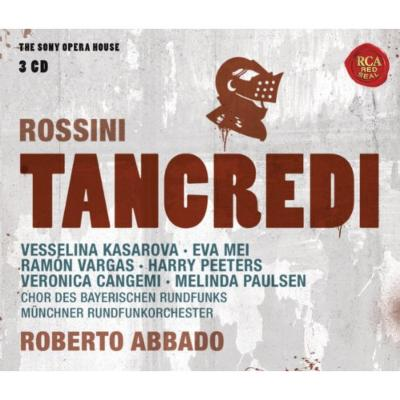 『タンクレディ』全曲 R.アバド&ミュンヘン放送管、カサロヴァ、ヴァルガス、メイ、他(1995 ステレオ)(3CD)