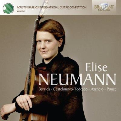 バリオス国際ギター・コンクール受賞者による演奏集 第1集:エリーゼ・ノイマン