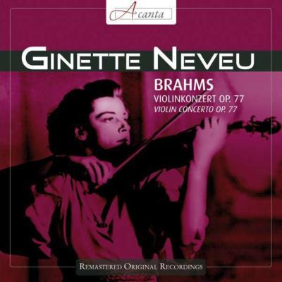 ヴァイオリン協奏曲 ヌヴー、シュミット=イッセルシュテット&北ドイツ放送響