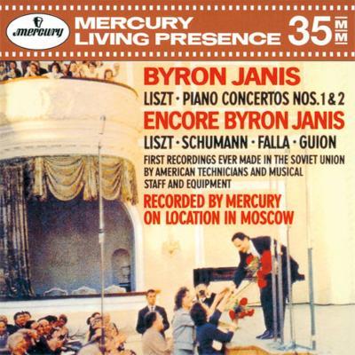 ピアノ協奏曲第1番、第2番、ハンガリー狂詩曲第6番、他 バイロン・ジャニス、コンドラシン&モスクワ・フィル、ロジェストヴェンスキー&モスクワ放送響