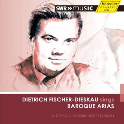 フィッシャー=ディースカウ、ドイツ・バロック・アリアを歌う(1952−54年放送録音集)