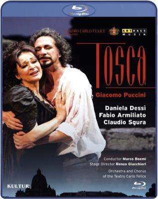 『トスカ』全曲 ジアッキエーリ演出、ボエーミ&カルロ・フェリーチェ劇場、デッシー、アルミリアート、スグーラ、他(2010 ステレオ)