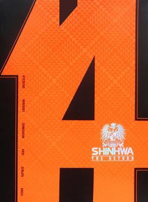 "SHINHWA 14TH ANNIVERSARY SPECIAL DVD ""THE RETURN"""