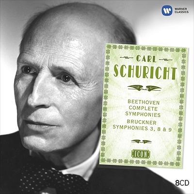 ベートーヴェン:交響曲全集、ブルックナー:交響曲第3、8、9番 シューリヒト&パリ音楽院管弦楽団、ウィーン・フィル(8CD限定盤)