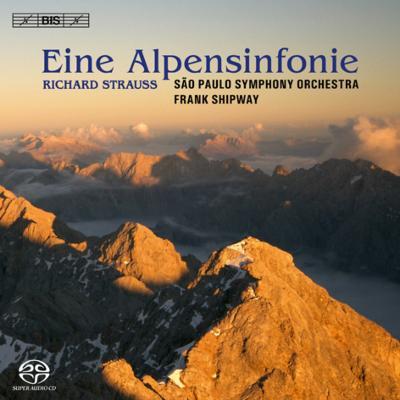 アルプス交響曲、交響的幻想曲『影のない女』 シップウェイ&サンパウロ交響楽団