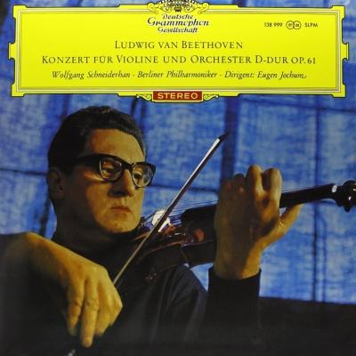 ヴァイオリン協奏曲 シュナイダーハン、ヨッフム&ベルリン・フィル ...
