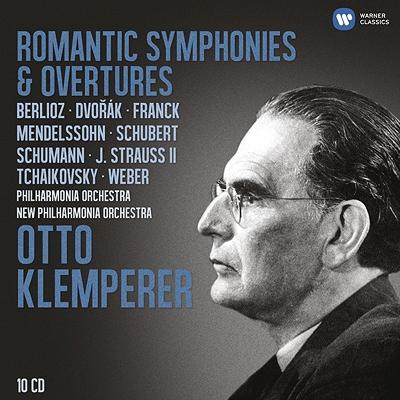 ロマン派交響曲集、序曲集 クレンペラー(10CD)