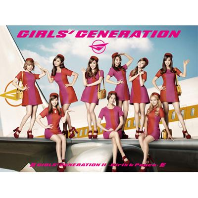 GIRLS' GENERATION 2 -Girls & Peace-(+DVD)[Deluxe First Press Edition]