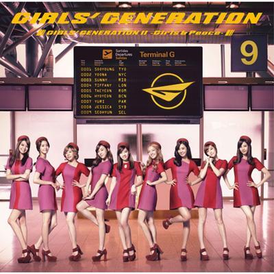 GIRLS' GENERATION 2 -Girls & Peace-[Standard Edition]
