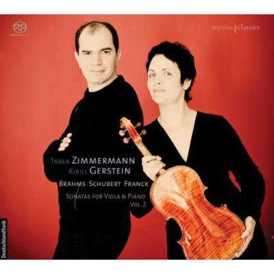 ヴィオラとピアノのためのソナタ集第2集〜ブラームス第1番、シューベルト、フランク T.ツィマーマン、ゲルシュタイン