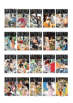 バクマン。 1-20 全巻セット完結 ジャンプコミックス