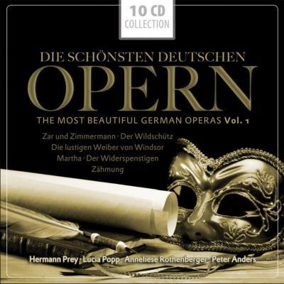 ドイツ・オペラ集〜皇帝と船大工、密猟者、ウィンザーの陽気な女房たち、マルタ、他(10CD)