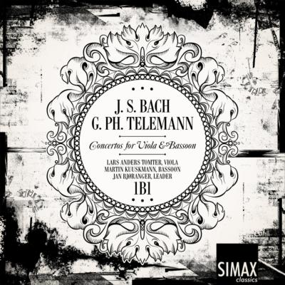 J.S.Bach Concertos for Viola & Bassoon, Telemann : Tomter(Va)Kuuskmann(Fg)Bjoranger / 1B1