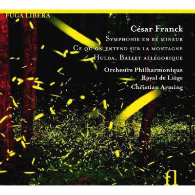 交響曲、交響詩『山の上で聞こえるのは』、組曲『フルダ』 アルミンク&リエージュ・フィル