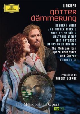 『神々の黄昏』全曲 ルパージュ演出、ルイージ&メトロポリタン歌劇場、ヴォイト、J.H.モリス、他(2012 ステレオ)(2DVD)