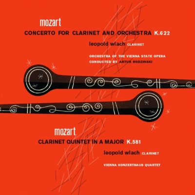 クラリネット協奏曲、クラリネット五重奏曲 ウラッハ、ロジンスキー&ウィーン国立歌劇場管、ウィーン・コンツェルトハウス四重奏団