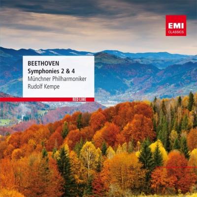 交響曲第4番、第2番 ケンペ&ミュンヘン・フィル