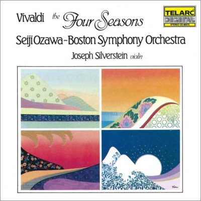 協奏曲集『四季』 シルヴァースタイン、小澤征爾&ボストン交響楽団