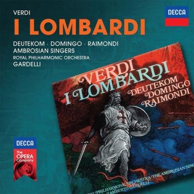 『第1回十字軍のロンバルディア人』全曲 ガルデッリ&ロイヤル・フィル、ドミンゴ、ドイテコム、他(1971 ステレオ)(2CD)